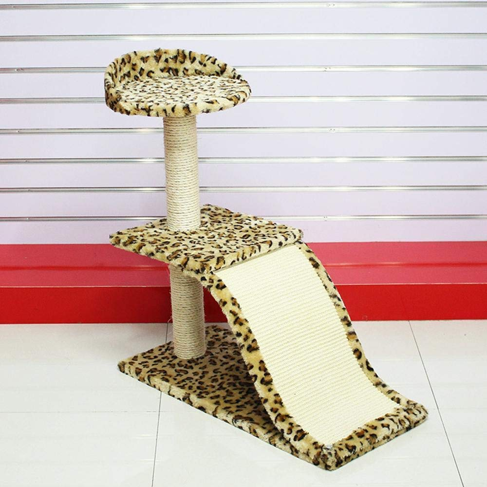 TOUYOUIOPNG Deluxe Multi Level Cat Tree Creative Play Towers Trees for Cats Cat climbing cat Litter cat house cat jumping platform for sleeping games 55cm 33cm  74cm