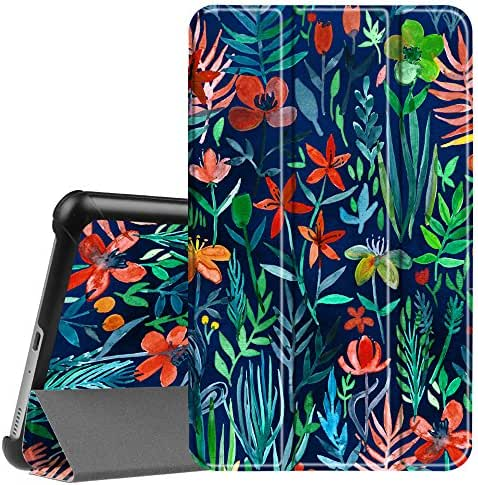Fintie Case for Samsung Galaxy Tab A 8.0 2017 Model T380/T385, Ultra Lightweight Slim Shell Standing Cover with Auto Sleep/Wake for Galaxy Tab A 8.0 Inch SM-T380/T385 2017 Release, Jungle Night