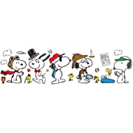 Eureka Peanuts and Snoopy Bulletin Board Set and Classroom Decorations, 0.1'' x 18'' x 28'', 44pc