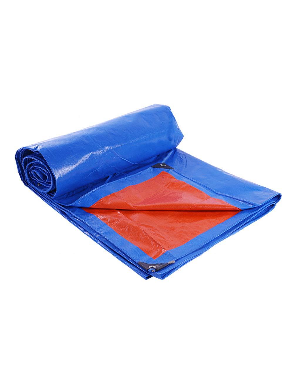 Fonly Blaues Rot Verdicken Plane-Hochleistungswasserdichter Tarp-Zelt-kampierende Schatten-Plane