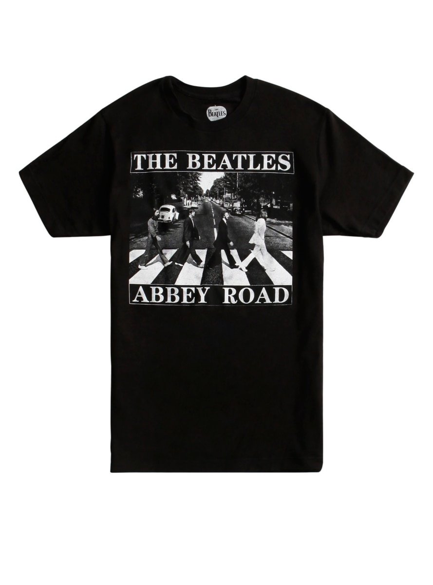 Hot Topic The Abbey Road T Shirt 1608