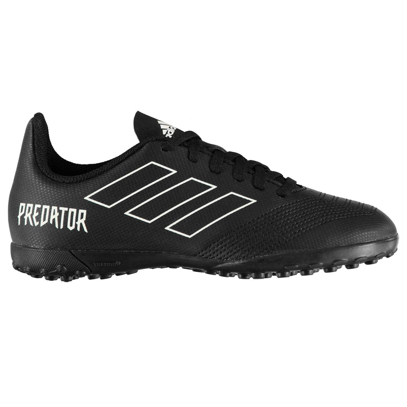 adidas Predator TF Tango 18.4 TF Predator J, Chaussures de Football Mixte Enfant 30 EU|Noir (Negbás 000) d6ab7c