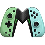 ALIENGT Joypad Controller Replacement for Nintendo Switch Joycon, Wireless Joy Pad Joystick Remote Controllers with Programma