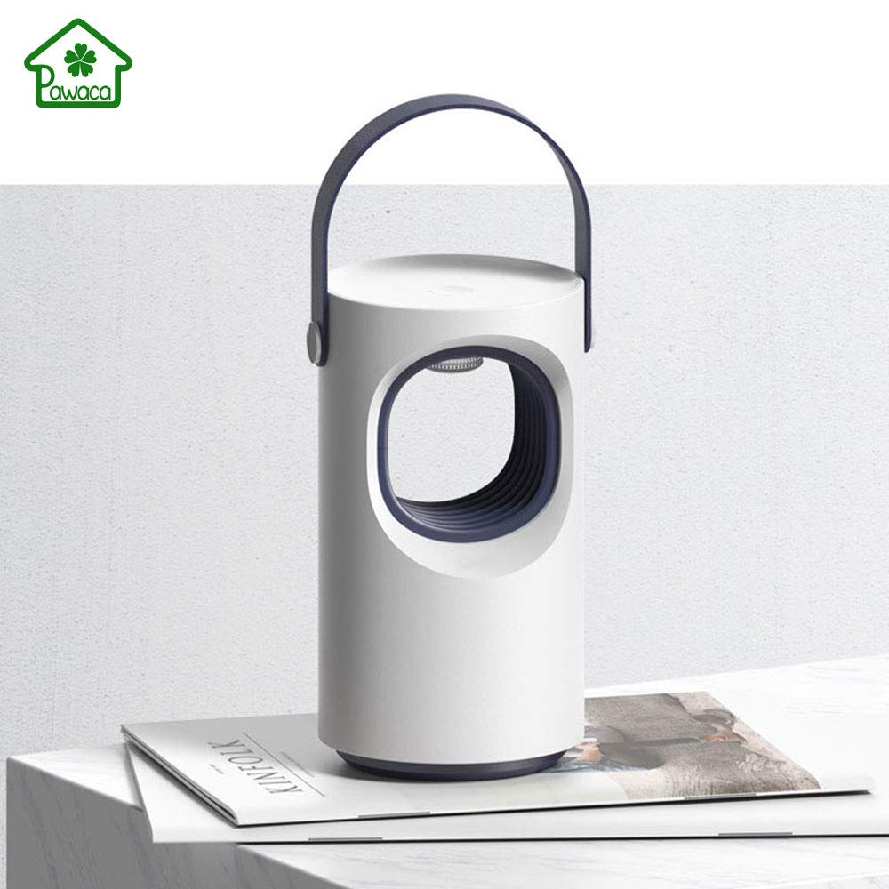 New USB Mosquitoes Killer Lamp Physical Silent Pest Repeller Portable LED Inhalation Mosquito Trap Lamp Silent Without Radiation