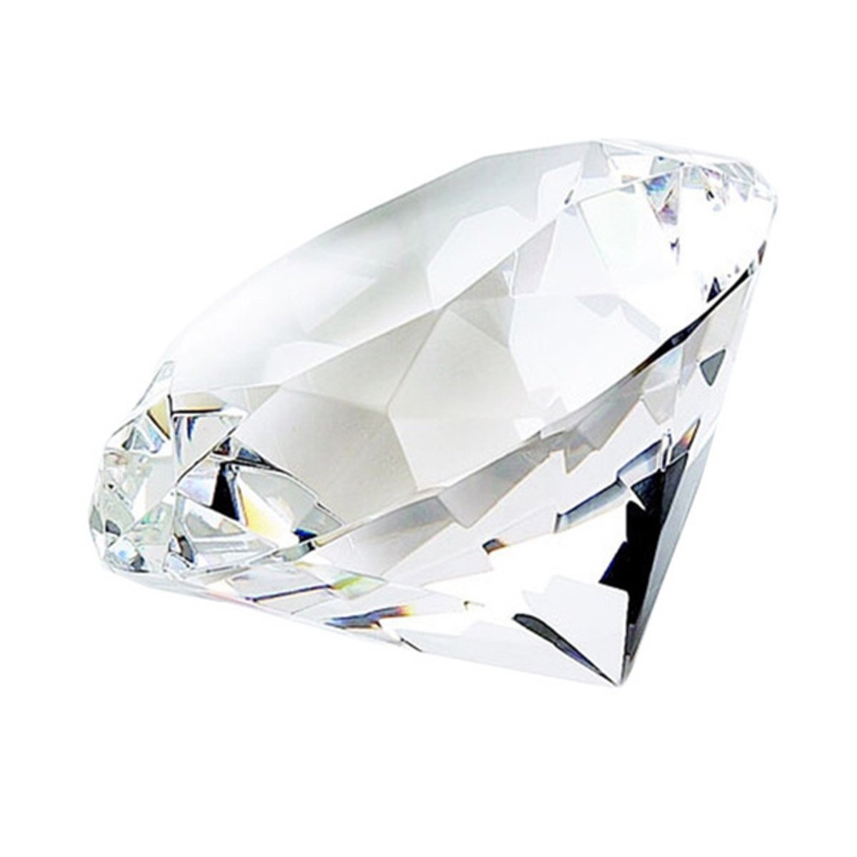 Diamond Shape Paperweight OPTICAL CRYSTAL B0036NJ51I | Deutschland Shops