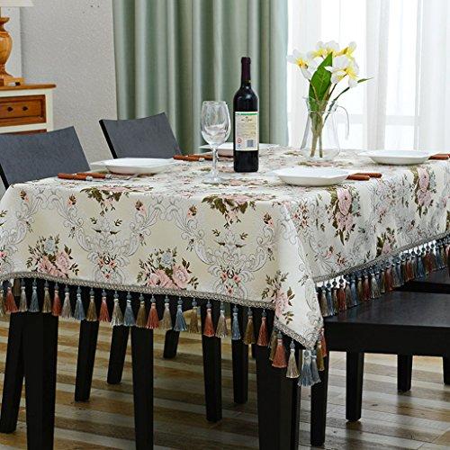 E 120120cm Nappes Nappes Rectangle Salon Nappes Européennes Nappes (Couleur   E, taille   120  120cm)