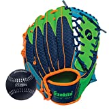 Franklin Sports Teeball Recreational Series Fielding Glove with Baseball, 9.5-Inch