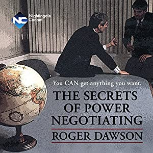 The Secrets of Power Negotiating Hörbuch
