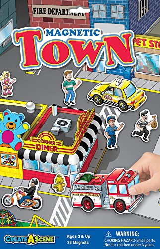 Patch Produkte magnetisch create-a-scene-town, andere, mehrfarbig