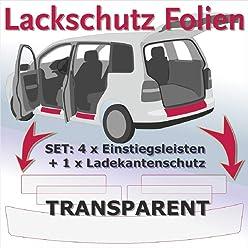 Einstiegsleisten Lackschutzfolie Schutzfolie Schwarz Matt Folie T/üreinstiege Einstiege 2179