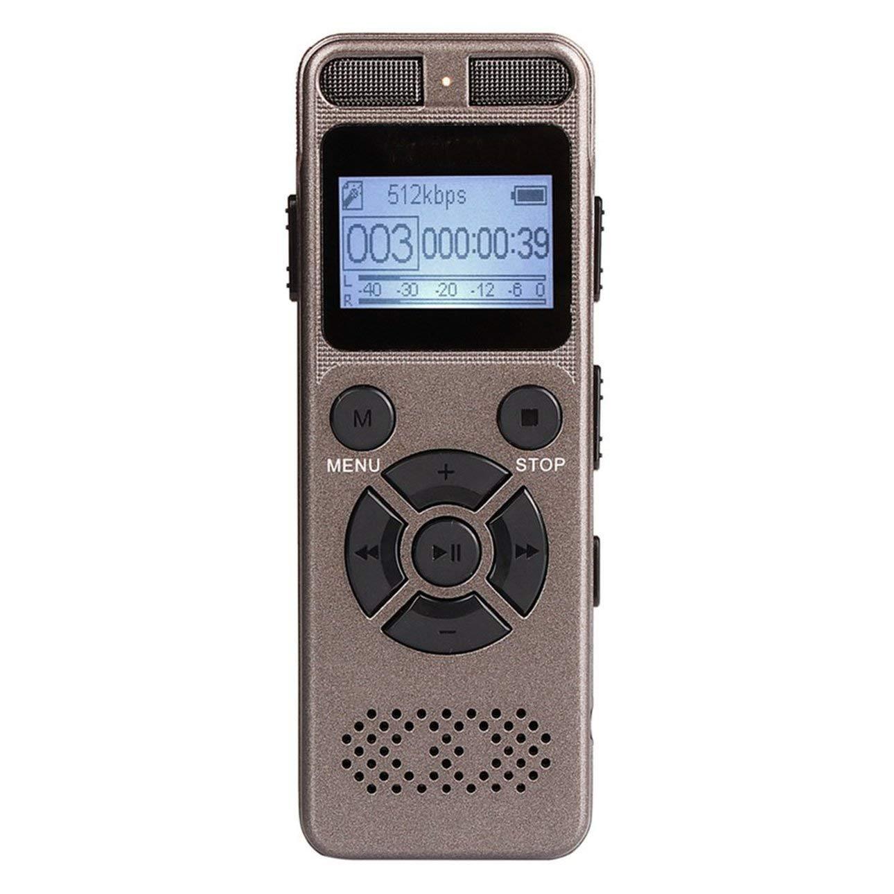 Ballylelly Ballylelly Ballylelly Grabadora de Voz Digital Mini portátil con el micrófono de Cualquier grabación ocasión 9eab94