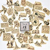 Kawaii Vintage Paper Stationery Sticker Set Animal
