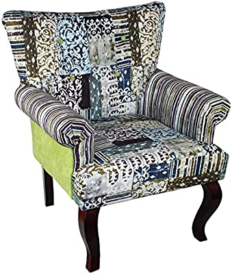 Amazon Com Baxton Studio Pop Chair With Floral Pattern