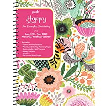 Posh: Happy Living 2017-2018 Monthly/Weekly Planner Calendar: For Everyday Positivity