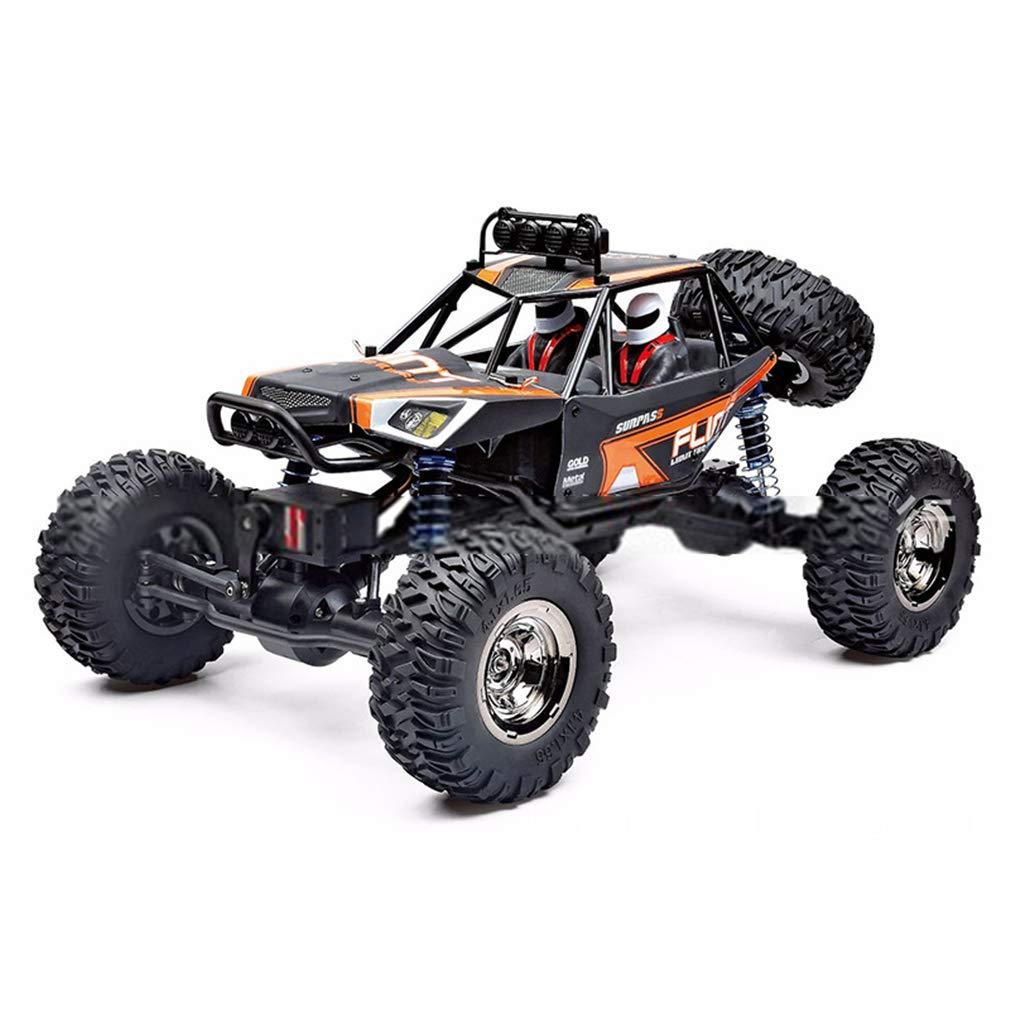 LSQR Ad Alta Potenza Telecomando Auto Rock Climbing RTR Pathfinder Giocattoli Impermeabile 1 12 2.4 GHz 4WD Racing RC Auto Hobby Giocattoli per Bambini,arancia