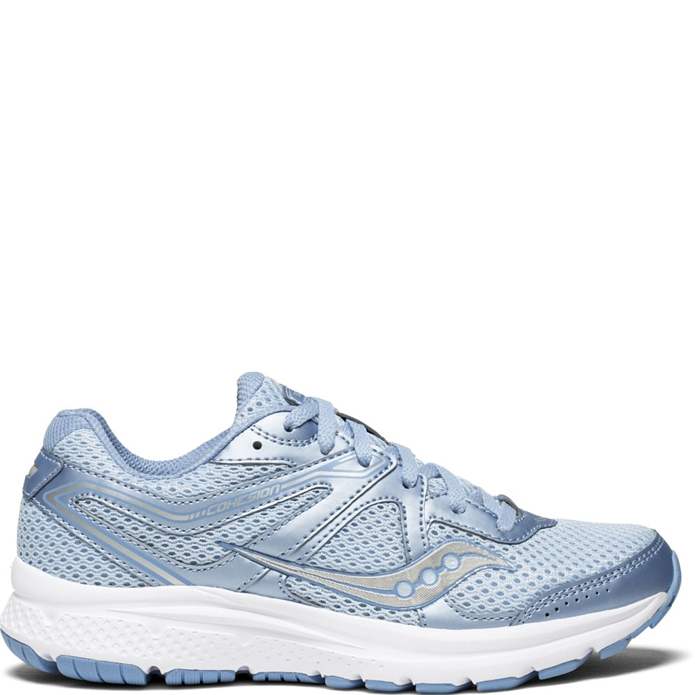 gris (Fog   bleu 3) Saucony Cohesion 11, Chaussures de Fitness Femme 35.5 EU