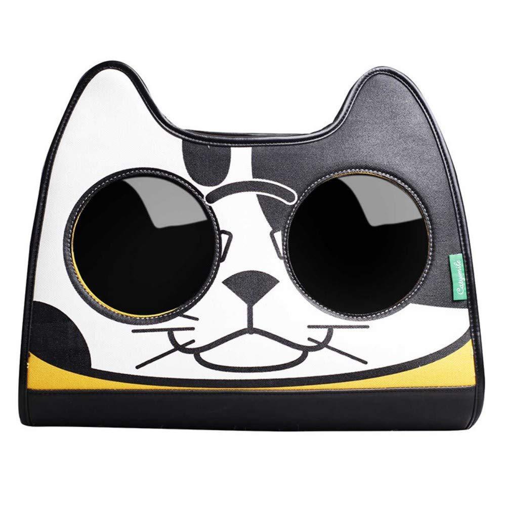 orange CSDAShoulder Backpack Tide Brand Explosive Cat Portable Bag Out Shoulder Backpack Pet Bag Cat,orange