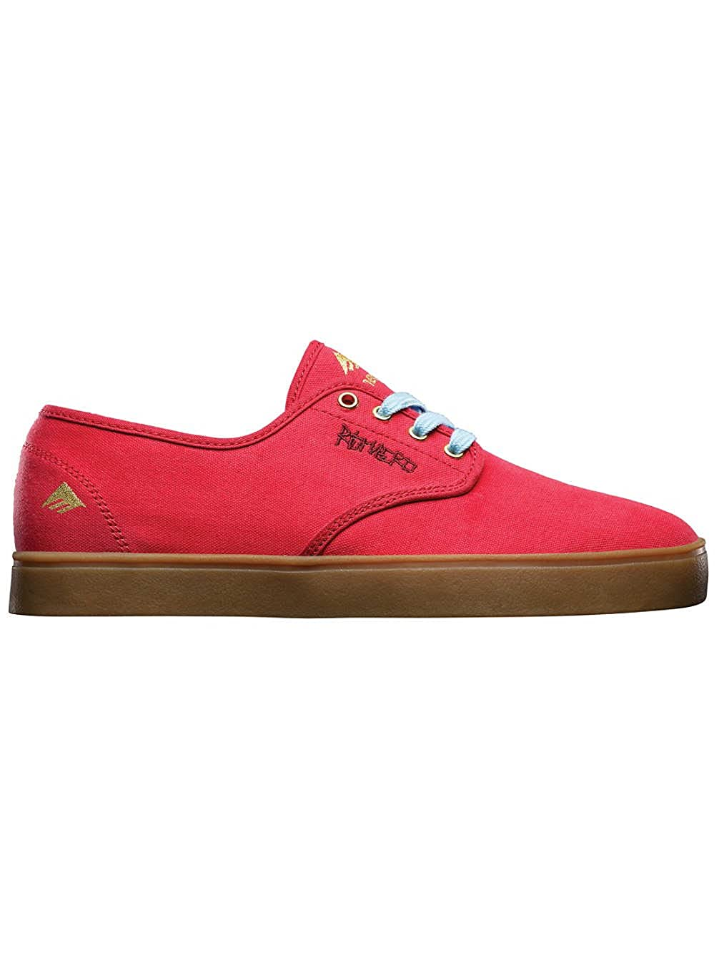 Emerica LACED Sneaker BY LEO ROMERO 6102000082 Herren Sneaker LACED ROT - ROT/Braun 3c8806