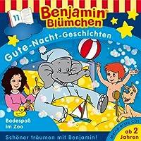 Badespaß im Zoo (Benjamin Blümchen Gute Nacht Geschichten 11)