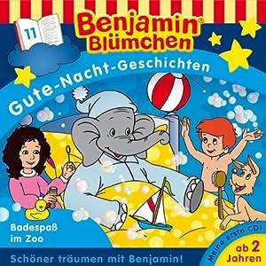 Badespaß im Zoo (Benjamin Blümchen Gute Nacht Geschichten 11) Hörspiel