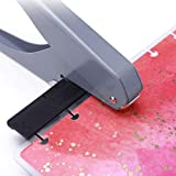 lynn Paper Hole Punch DIY Paper Cutter T-Type Puncher Machine for Offices Stationery