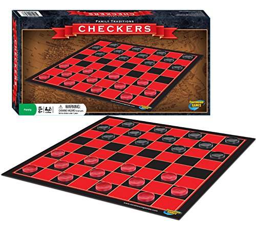 Checkers Family Traditions Board Games