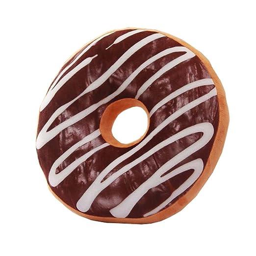 Donut Felpa cojín de Peluche Encantador Chocolate Almohada ...