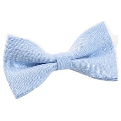 c31d93f4f99a Children s Kids Boys Pale Blue Elasticated Cotton Bow Tie  Amazon.co ...