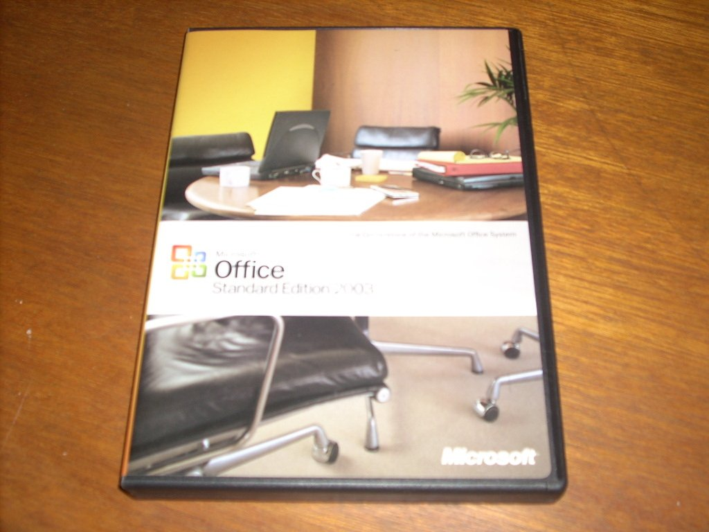 Microsoft Office Standard Edition 2003 Software (2000/XP) CD