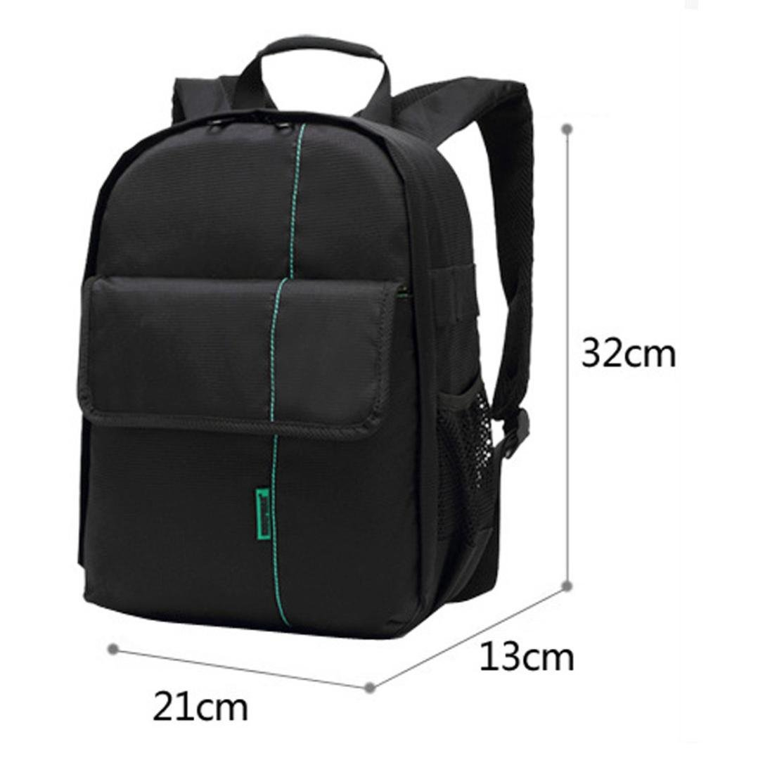 fc8f484c7d Amazon.com  Egmy® Hot! 2016 Quality Product Camera Backpack Bag Waterproof  DSLR Case for Canon for Nikon for Sony (Green)  Clothing