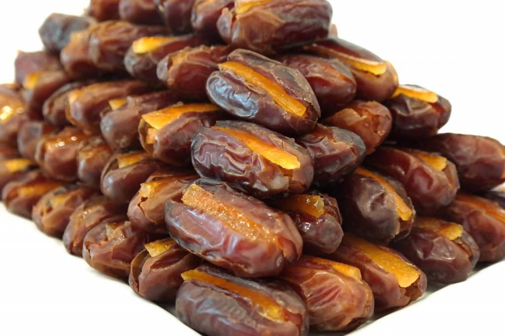 Bateel USA Khidri Dates Candied Orange Peel