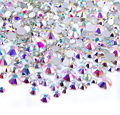 SWAROVSKI® Crystal Beads And Flat Backs 50 grams Mixed Assortment Aprox