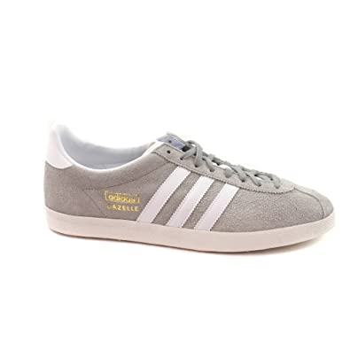adidas Gazelle OG Grey Suede Rare Retro Sneakers-Grey-8 23744c478