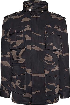 John Doe Jacke Field Jacket Kevlar Camouflage-L