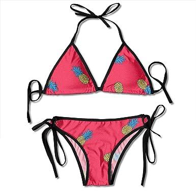 cc83e884a9b Amazon.com: Pink Pineapple Little Lovely Ladies Women Girl Summer ...
