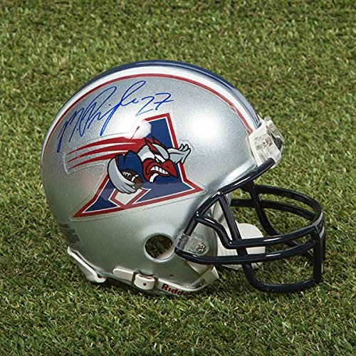 - AJ Sports World Mike Pringle Montreal Alouettes Autographed CFL Football Mini-Helmet