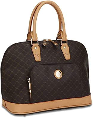 Signature Duffle Dome Traveler by Rioni Designer Handbags /& Luggage