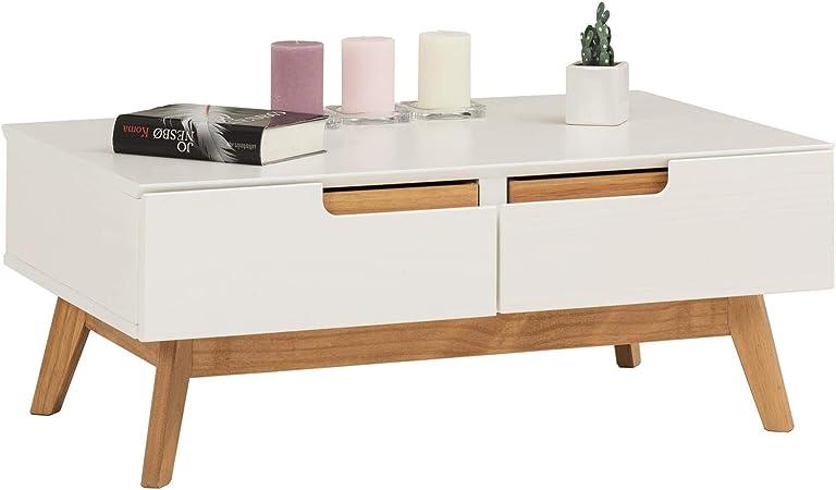 Idimex Table Basse Tibor Style Scandinave Design Vintage Nordique