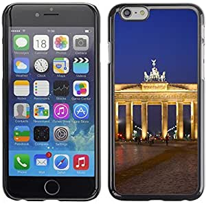 Graphic4You Berlin Germany Postcard Design Hard Case Cover for Apple iPhone 6 Plus