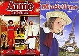 Musical Family Fun 3-Movie Set: Annie Double Feature (Annie / Annie: A Royal Adventure) & Madeline Bundle