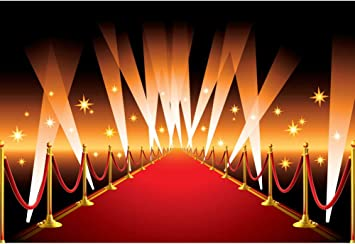Amazon Com Csfoto 6x4ft Red Carpet Photography Backdrop For Wedding Party Hollywood Award Ceremony Decor Movie Premiere Decor Filmfest Background Glitter Flashlight Adults Kids Portrait Photo Studio Props Camera Photo