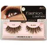 Ardell Fashion Lashes False Eyelashes - #113 Black (Pack of 4)