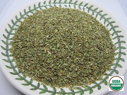 Organic Marjoram Leaf - Origanum majorana Loose Leaf c/s 100% from Nature (4 ()