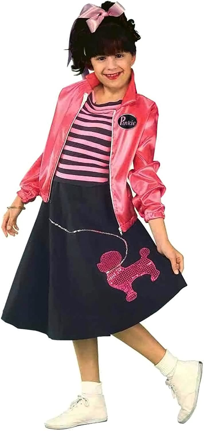 Forum Novelties Nifty Fifties Child's Costume, Small, Multi color