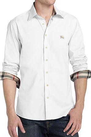 Burberry Brit Hemd, Farbe  Weiss, Größe  S  Amazon.de  Bekleidung 49a44de07a