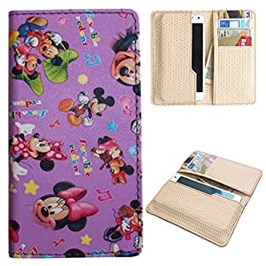 DooDa PU Leather Quality Wallet Case Cover With Card Slots Pouch For iBall Andi 4.5Z