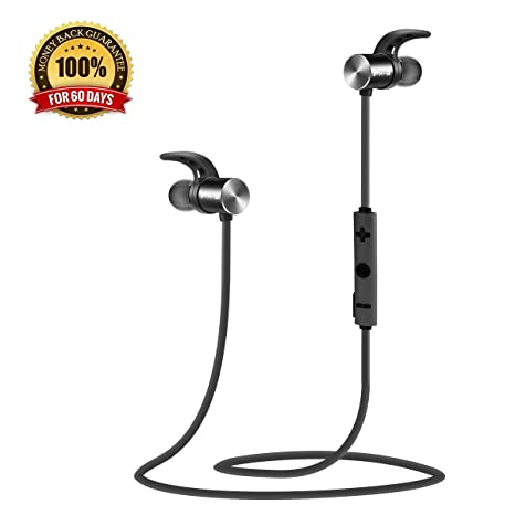 [QCY Factory Outlet] QY7 Auriculares Bluetooth 4.1 Inalámbricos Auriculares Deportivos In-ear Estéreo para Correr y ...