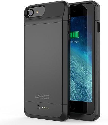 Amazon.com: iPhone 6/6S batería Caso, wesoo 3050 mAh ...