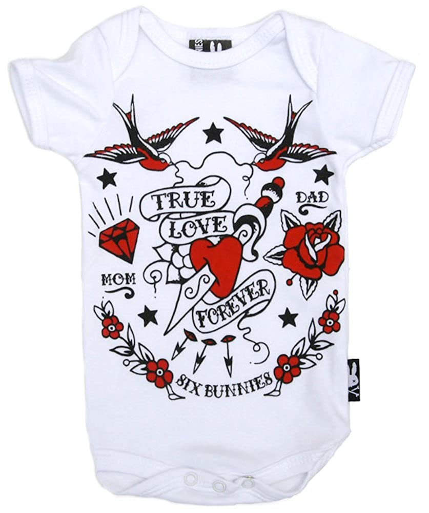 Six Bunnies - Mono - para bebé niño