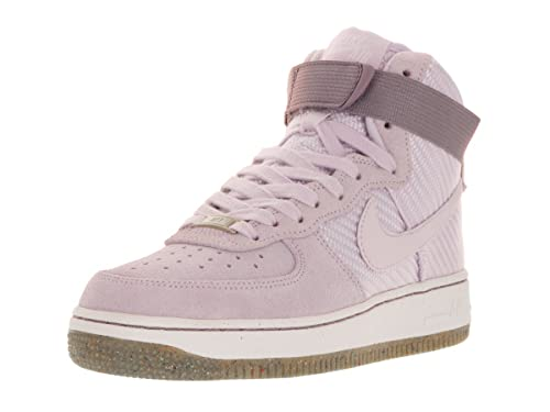 hot sale online 70fd4 18946 Nike WMNS Air Force 1 Hi PRM, Women s Sport Shoes Blue Size  9
